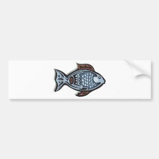 Arte dos peixes adesivo para carro