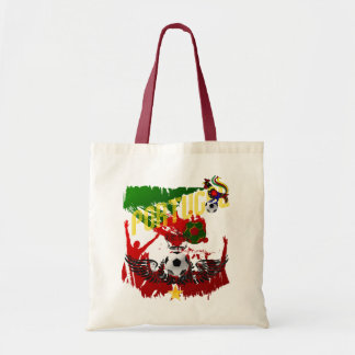 """Arte E Futebol Português - """"Portugal Allez """" Bolsa Para Compra"""