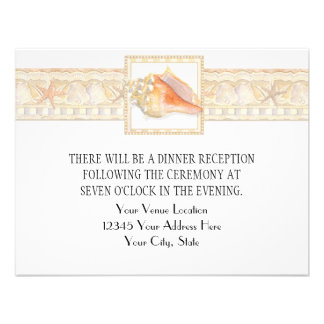 Arte elegante dos casamentos de Shell do Conch da
