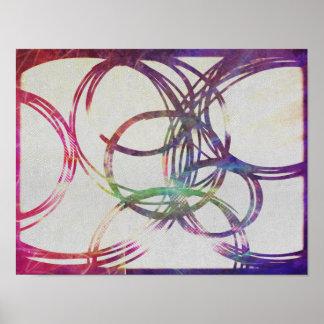 Arte espiral do poster