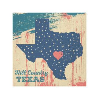 Arte estrelado de Texas - país do monte