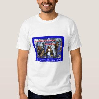 arte, eu amo o HIP-HOP Camisetas