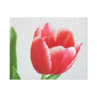 Arte floral da aguarela das canvas da flor da