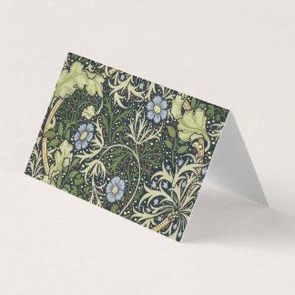 Arte floral do vintage do teste padrão da alga de