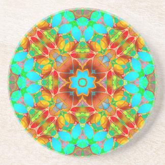 Arte floral G410 do Fractal da porta copos