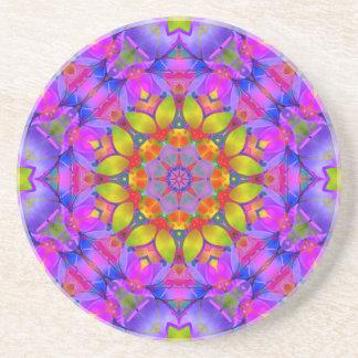 Arte floral G445 do Fractal da porta copos