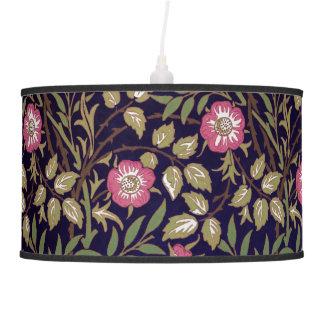 Arte floral Nouveau do Briar doce de William Luminária De Teto
