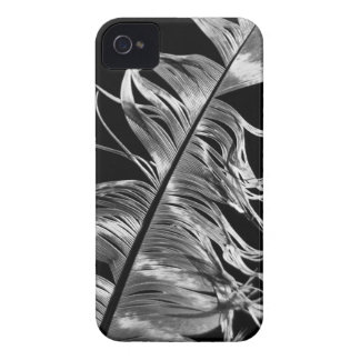 Arte fotográfica preta & branca da pena capas para iPhone 4 Case-Mate