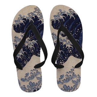 Arte japonesa do vintage a grande onda por Hokusa