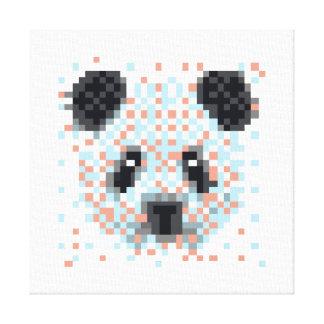 Arte legal do pixel da panda