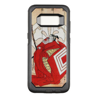 Arte legendária japonesa legal do guerreiro do capa OtterBox commuter para samsung galaxy s8