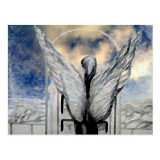 Arte místico e design de CricketDiane do anjo Cartão Postal