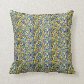 Arte moderna travesseiros de decoração