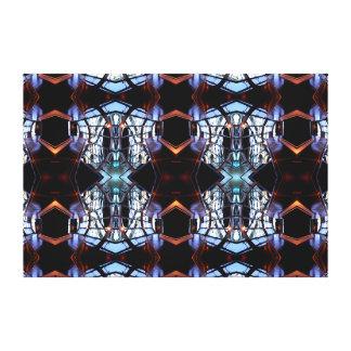 Arte moderna complexa arte revelada 4 das canvas impressão em tela canvas