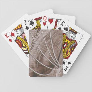 arte moderna em capa de baralho cartas de baralho