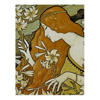 Arte Nouveau de L'Ermitage Cartão Postal