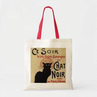 Arte Nouveau do vintage, Le Conversa Noir Bolsa Tote