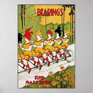 Arte Nouveau: Poster da propaganda do vintage - ro