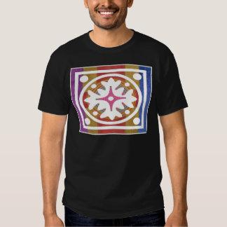 Arte ORIENTAL de GoodLuck - superfície de seda do Tshirt