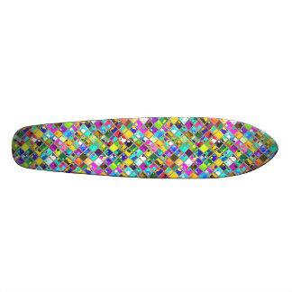 arte original do azulejo de mosaico dos anos 90 skate