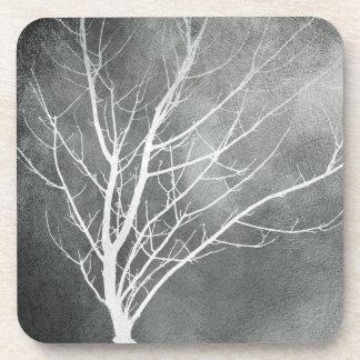arte original do cinza da porta copos das árvores