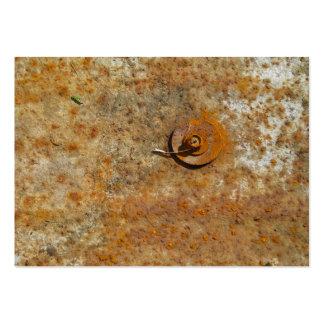 Arte oxidada cartão de visita grande
