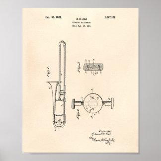 Arte Peper velho da patente do acessório 1927 do Pôster