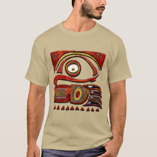 Arte popular do africano do MTU de Chu Camiseta