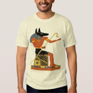 Arte popular do egípcio de Anubis Camiseta