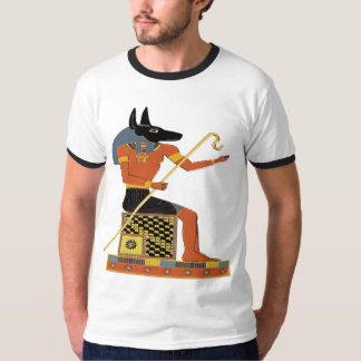 Arte popular do egípcio de Anubis Camiseta