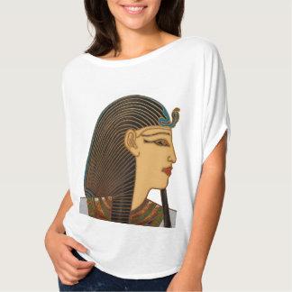Arte popular do egípcio do faraó tshirts