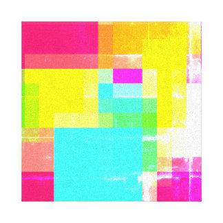 Arte quadrada abstrata das canvas