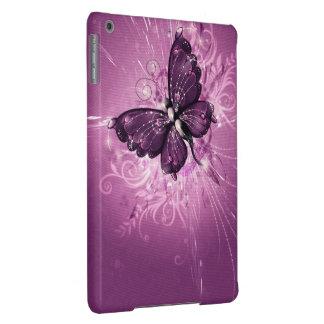 arte roxa do vetor da borboleta capa para iPad air