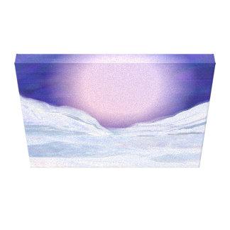 Arte sem tocar de Digitas da neve Impressão Em Canvas