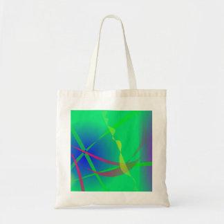 Arte verde abstrata do planeta