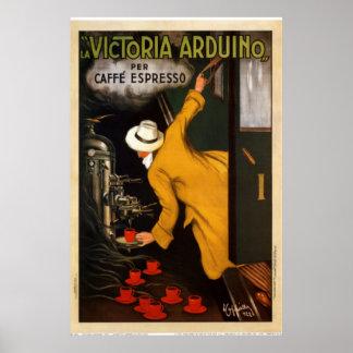 Arte Victoria Arduino 1922 do vintage Poster