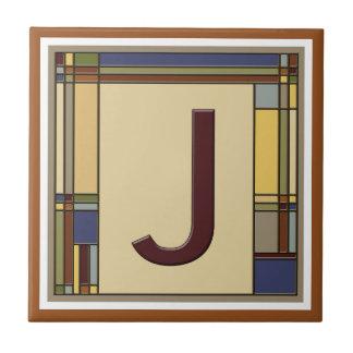 Artes maravilhosas & inicial geométrica J dos