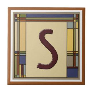 Artes maravilhosas & inicial geométrica S dos