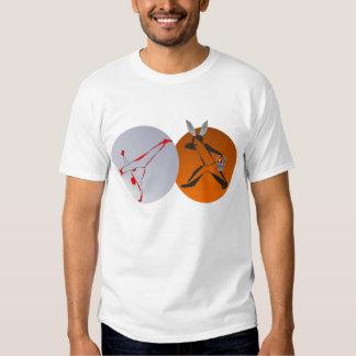artes marciais da páscoa do capoeira da camisa t-shirt