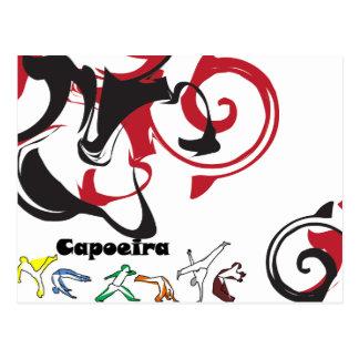 artes marciais do capoeira do cartão