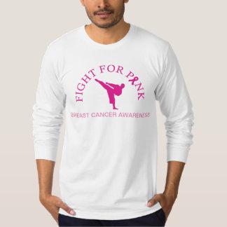 Artes marciais para a camisa da consciência do