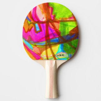 Artes visuais 845 raquete de ping pong