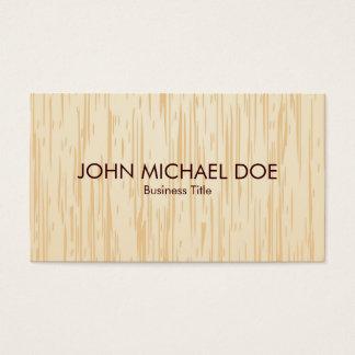Artesão de madeira do profissional do Woodworking Cartão De Visitas