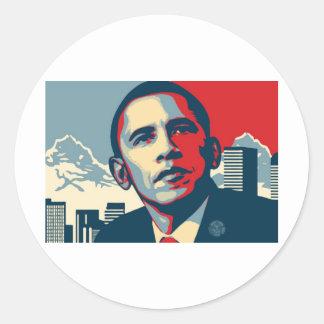 Artigo de Obama Adesivos Em Formato Redondos