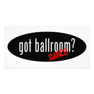 Artigos da dança de salão de baile - salão de bail cartao com foto