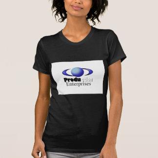 Artigos da loja das empresas da produção camisetas