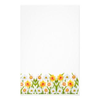 Artigos de papelaria alegres dos Daffodils do prim