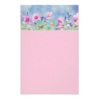 """Artigos de papelaria aparados florais bonitos 5,5"""""""