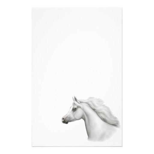Artigos de papelaria árabes egípcios do cavalo