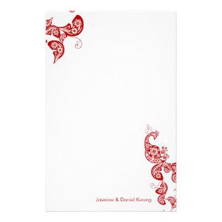 Artigos de papelaria asiáticos chiques do